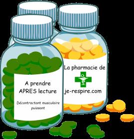 medicaments APRES lecture