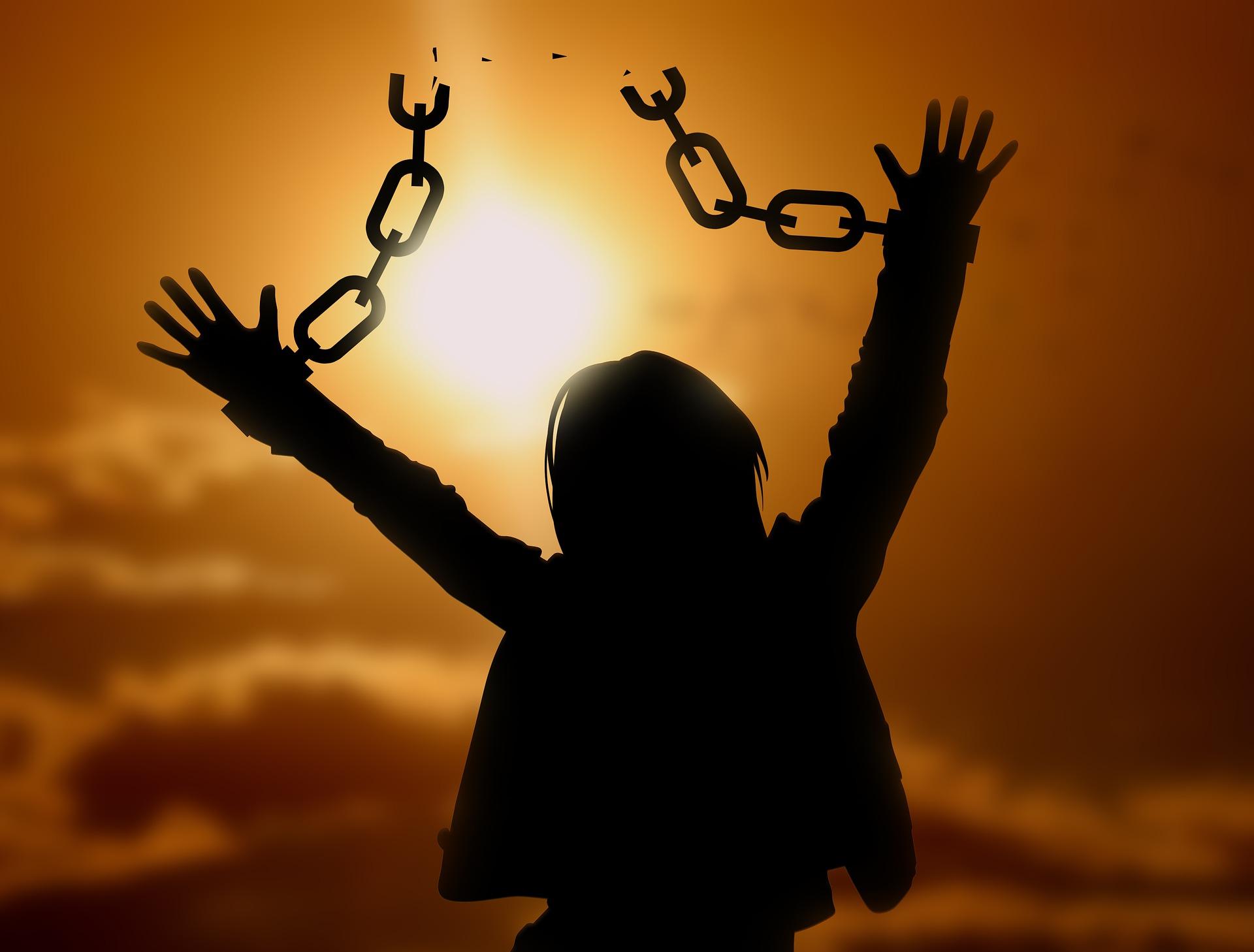 Libérée de ses chaines