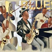 Tableau de Pierre Farel intitulé Attica Blues