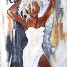 Tableau de Pierre Farel intitulé Bellezza