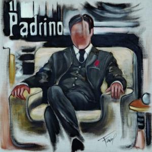 Tableau de Pierre Farel intitulé El Padrino