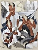 Tableau de Pierre Farel intitulé Sintineddi