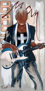 Tableau de Pierre Farel Bass Man