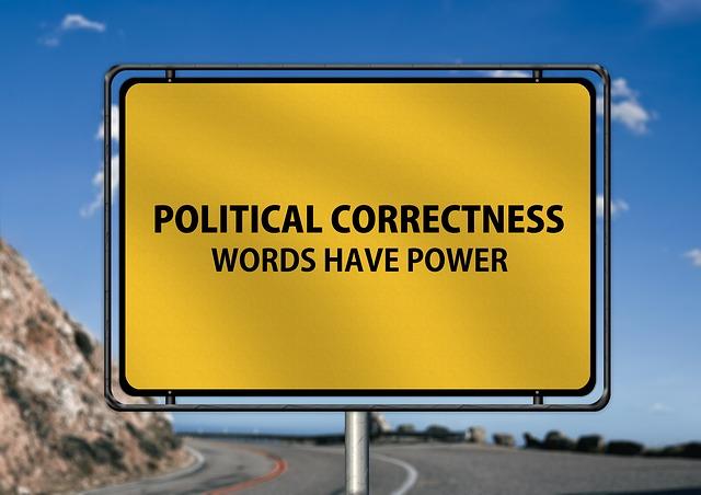 Panneau politiquement correct