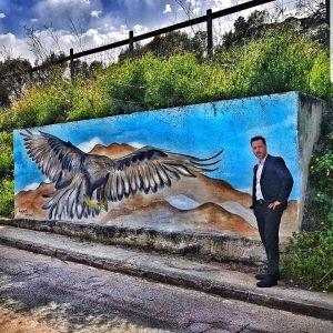 Oeuvre d'Adrien Martinetti - L'aigle impérial d'Ajaccio