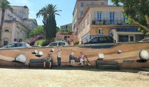 Oeuvre d'Adrien Martinetti - Le paradis des boules